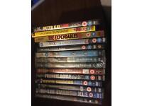 11 DVD's ( inc 1 box set)