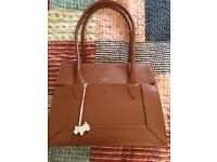 Genuine Radley tan leather handbag RRP £229