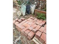 used red clay roof tiles
