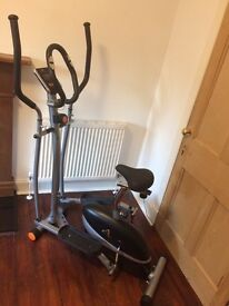 V-Fit 2-in-1 Magnetic Cycle and Elliptical Trainer - Excellent Condition!
