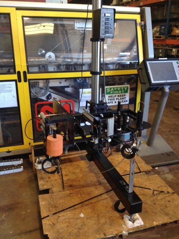 Label Jet 2100 Pressure Sensitive Bottle Labeler, Labeling Machinery