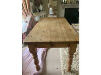 Beautiful pine table
