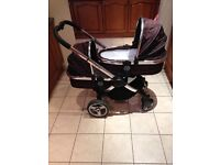 ICandy Peach Twin Pram/Pushchair