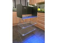 SUNNGAS COLLAPSIBLE CAMP KITCHEN WITH WIND BREAK