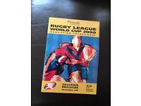 Leeds rugby league programmes 1990's
