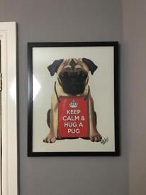 Pug photo frame
