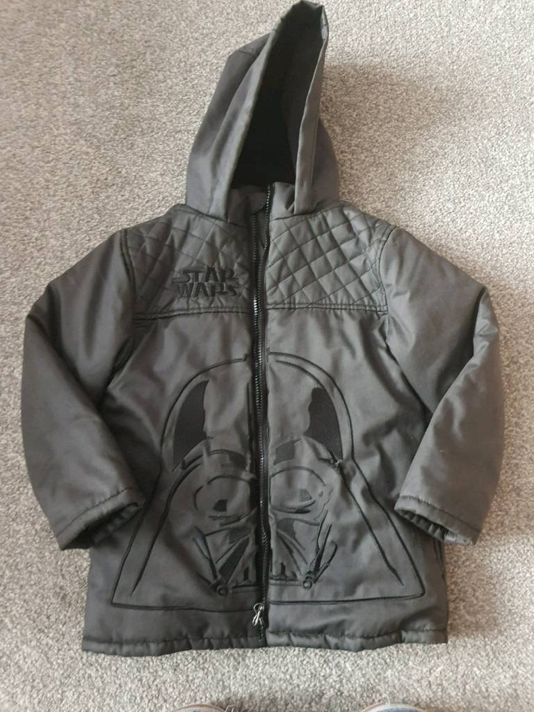 Boys star wars winter coat