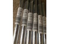 Chrome tubing as per labels. Sold as one unit. Cash only
