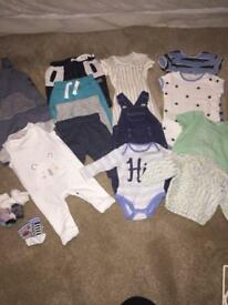 0-3 month baby boy outfits