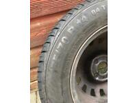 "175/70 Tyre and 14"" steel wheel for sale"