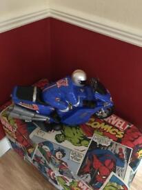 Large motorbike