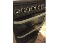 HOTPOINT CH60EKK Electric Ceramic Cooker - Black SECOND HAND