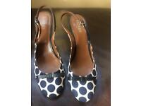 Hobbs polka dot shoes NEW PRICE