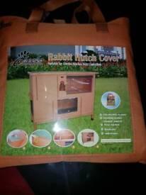 Brand new rabbit hutch cover