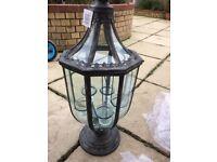 Large garden lantern New