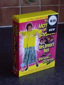 THE MOTHER OF ALL BOXSETS 12 DVD DISC MRS BROWN 'S BOY'S .