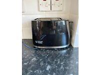 Russel Hobbs Black Toaster