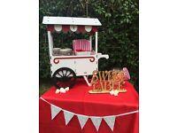 Table top sweet cart