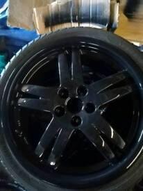 "17"" Cromodora wheels"