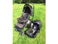 Mothercare Curve Pushchair and Car Seat