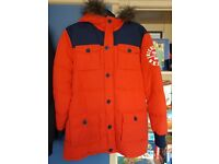 Nickelson Padded Parker coats Age 12-13 and 13-15 Bargain at £15 for both or £10 each.
