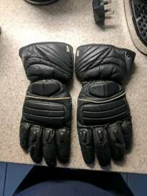 Large motorcycle gloves