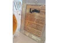 Harry Potter Spell Book Page Photo Frame / Wedding Table Names