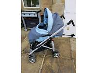 Bebecar reversus pram/pushchair from new born
