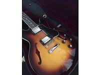 Gibson ES 339 Sunset Burst 2010 with Gibson Hard Case