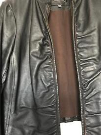 River Island Leather Jacket 2views
