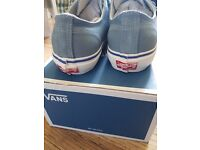 Vans Size 8 Canvas Trainers NEW