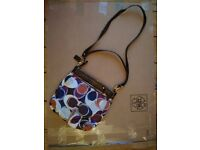 Coach Ashley Scarf Print Hippie Bag (w/ Leather) Like New