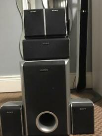 Sony Surround Sound speakers (passive subwoofer)