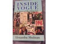 """Fashion book """"Inside Vogue: A Diary of my 100th Year"""" by Alexandra Shulman"""