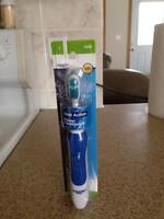 SOFT DUAL ACTION POWER TOOTHBRUSH - NEW!  IN ORIGINAL PACKAGE!