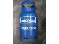 CalorGas 7KG Full Bottle Butane