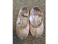 Girls ballet shoes