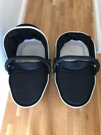 iCandy peach black magic carry cot