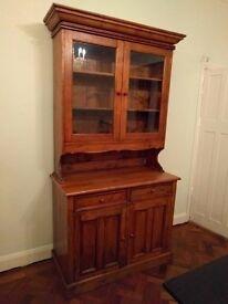 Lovely old Two Door Dresser/Display Cabinet in Indian Teak