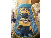 Minions ready bed
