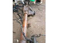 Iveco Daily Axle. Very good condition. Fits 2000 to 2006.