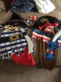 Age 3/4 pirate dress ups