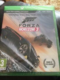 Sealed brand new Forza Horizon 3 Xbox one game