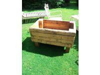 Large Heavy Duty Garden/Allotment Planter/Vegetable Trough