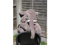 large elephant toy / pillow