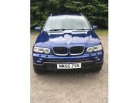 BMW 2005 X5 3.0D SPORT EDITION AUTO,BLUE METALIC,