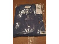 Farah blue shirt size S slim fit new in packaging