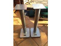 Speaker stands made by Custom Design