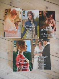 Historical Romance 5 Books Mills and Boon
