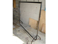 Heavy Duty , Very Large Clothes Rail 6 FT x 5 FT Ideal for Bootfairs , Shop , temporary wardrobe
